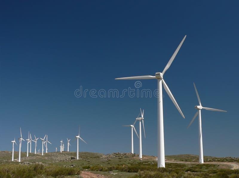 Het landbouwbedrijf van de wind in Spanje 1 royalty-vrije stock afbeelding