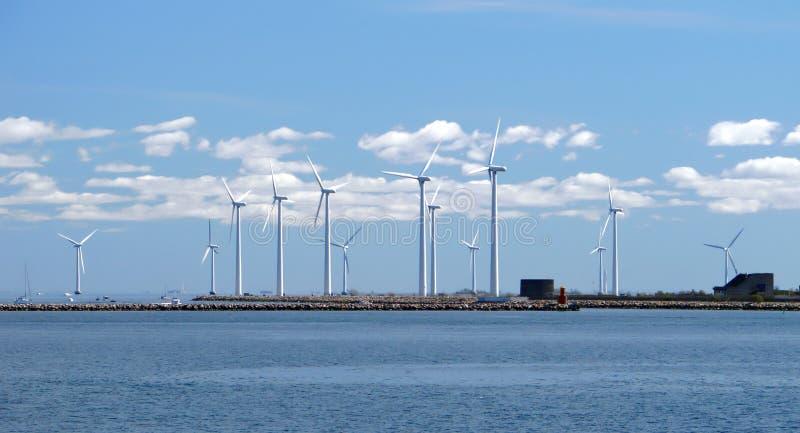 Het landbouwbedrijf van de wind w4 royalty-vrije stock foto