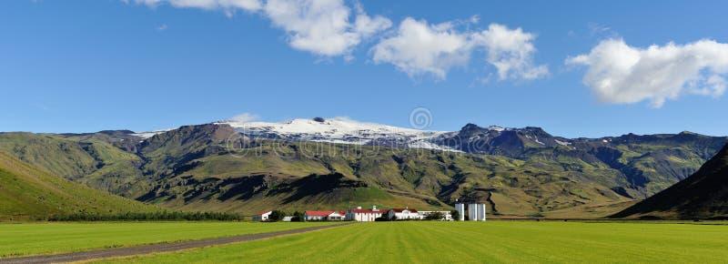 Het landbouwbedrijf van IJsland stock foto