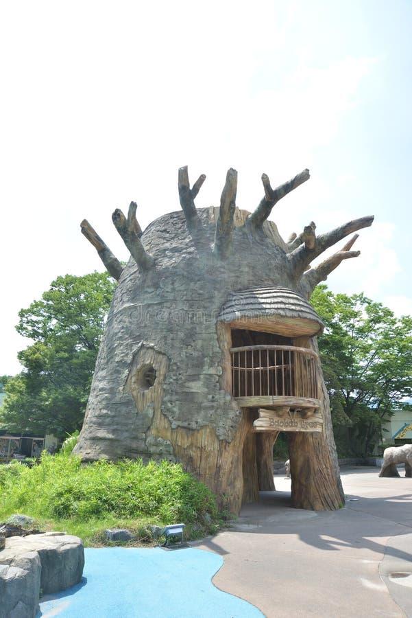 Het landelijke Huis van de Steen royalty-vrije stock afbeelding