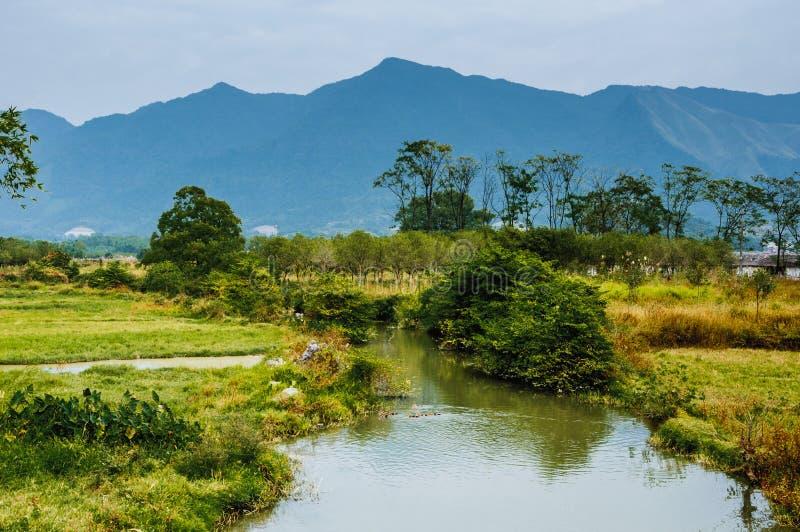 Het landelijke landschap stock foto