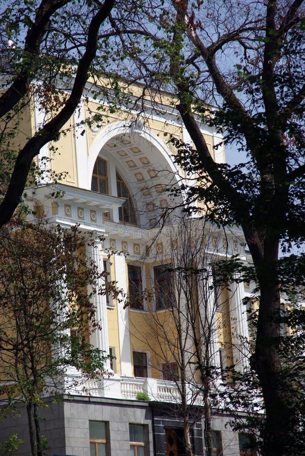 Het landgoed van Arkhangelskoye stock fotografie