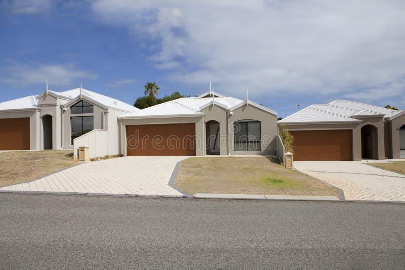 Het landgoed van de huisvesting, Perth royalty-vrije stock foto
