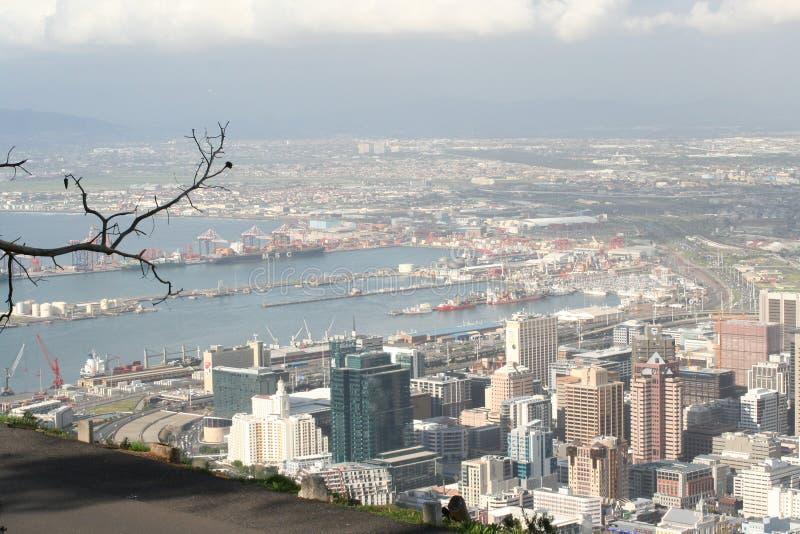 Het landschap Kaapstad 1 van Zuid-Afrika royalty-vrije stock afbeeldingen