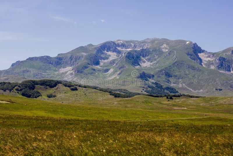 Het Landschap Montenegro van de aardberg royalty-vrije stock foto's