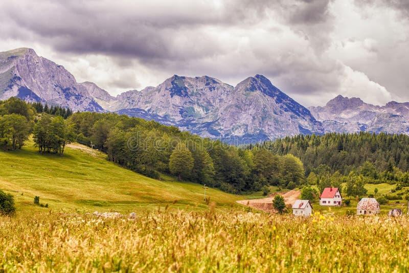 Het Landschap Montenegro van de aardberg royalty-vrije stock afbeeldingen