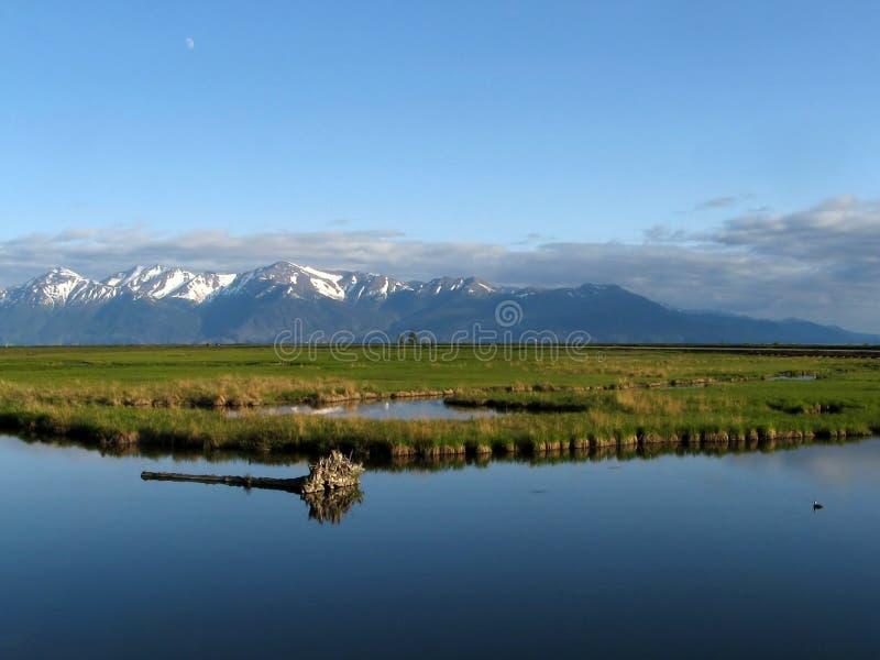 Het landschap van Alaska royalty-vrije stock afbeeldingen