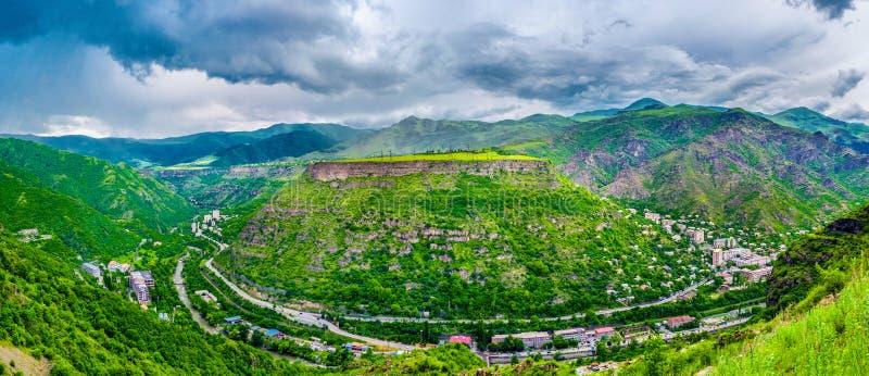 Het landschap van Alaverdi royalty-vrije stock fotografie