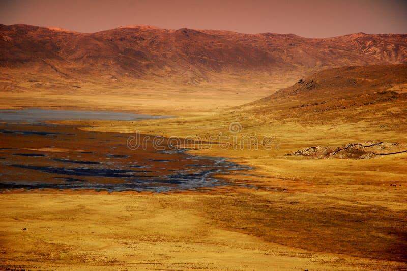 Het Landschap Van Ancash Stock Fotografie