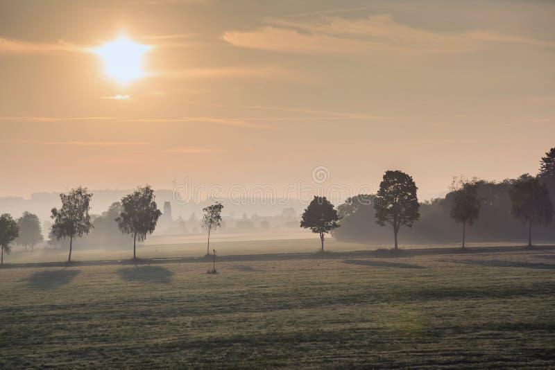 Het landschap van Beieren royalty-vrije stock afbeeldingen