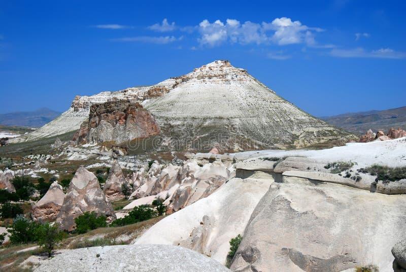 Het landschap van Cappadocia stock foto