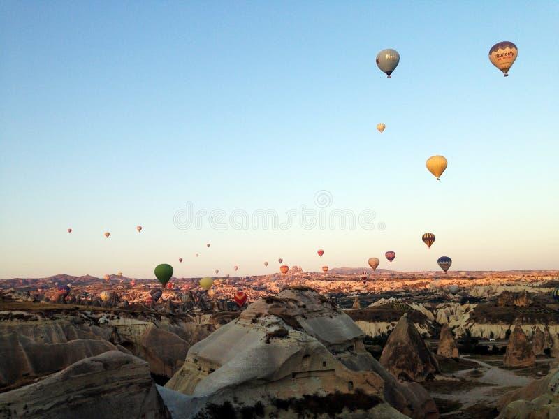 Het landschap van Cappadocia royalty-vrije stock foto's