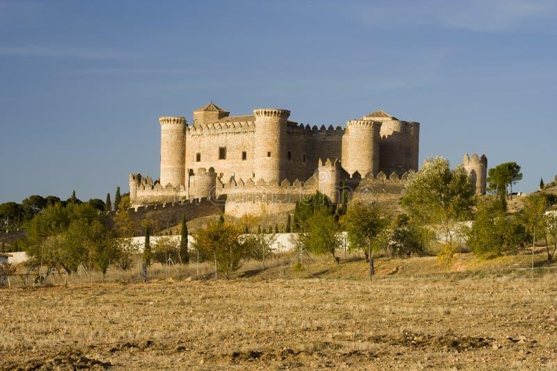 Het Landschap van Castillo DE Belmonte royalty-vrije stock fotografie