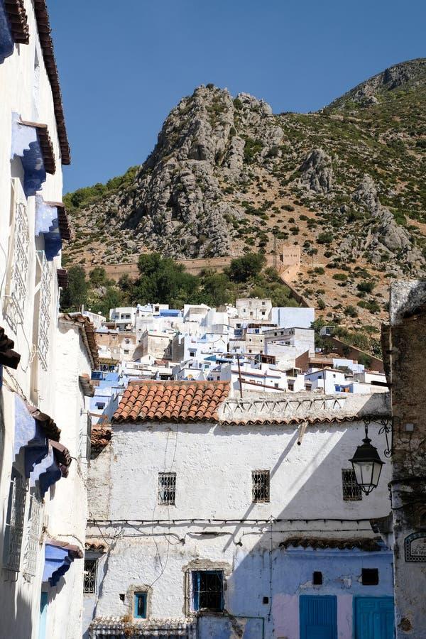 Het landschap van Chefchaouen, Marokko royalty-vrije stock foto