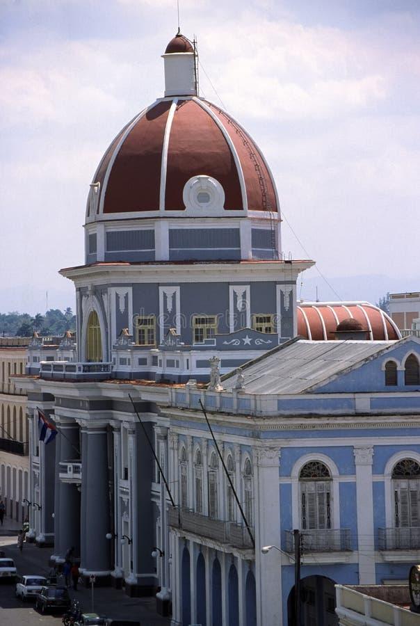 Het landschap van Cienfuegos stock afbeeldingen