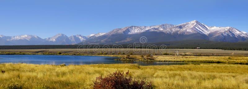 Het landschap van Colorado royalty-vrije stock afbeelding