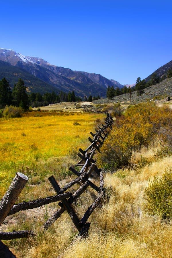 Het landschap van Colorado stock afbeeldingen
