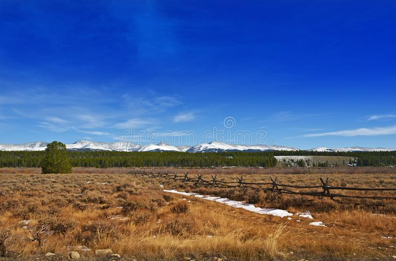 Het Landschap van Colorado royalty-vrije stock fotografie