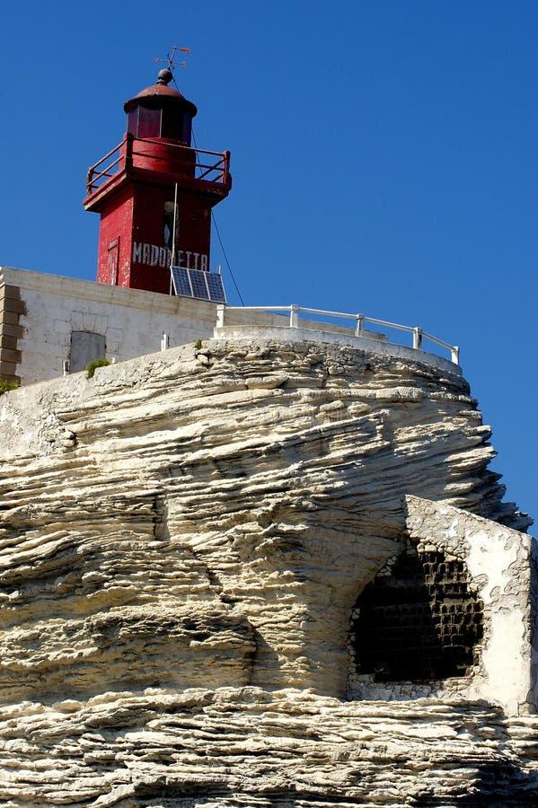 Het landschap van Corsica (Frankrijk) stock foto's