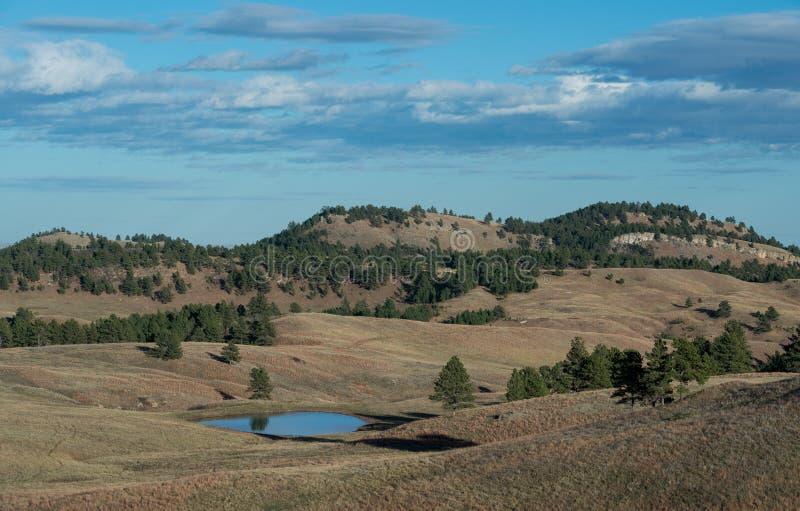 Het landschap van Dakota stock afbeelding