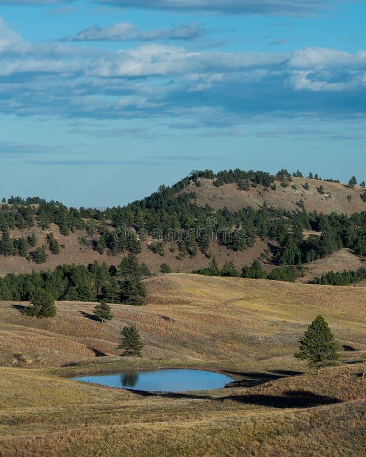 Het landschap van Dakota royalty-vrije stock fotografie