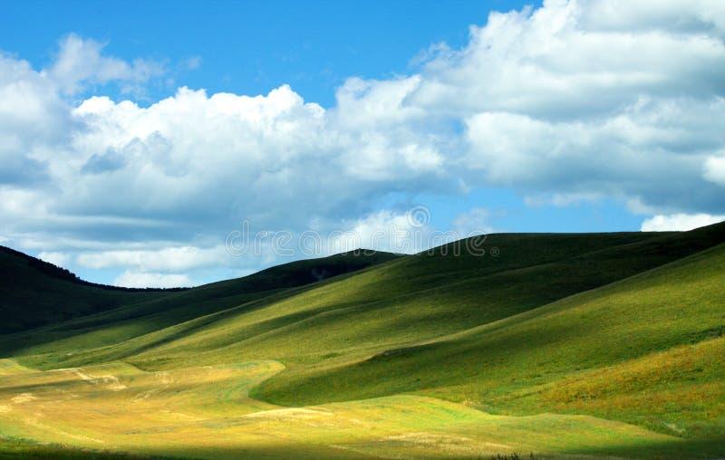 Het landschap van de aard stock afbeeldingen