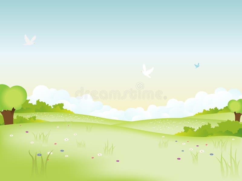 Het Landschap van de aard vector illustratie