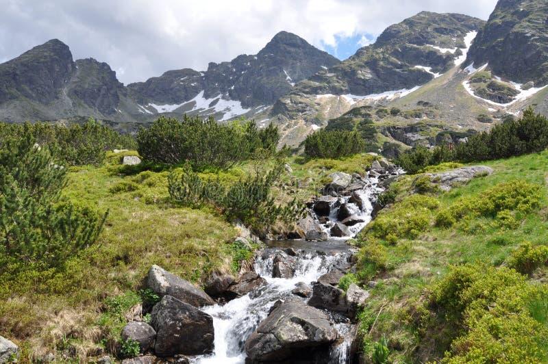 Het landschap van de berg royalty-vrije stock foto