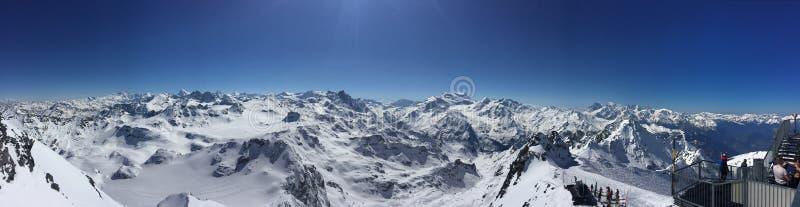 Het landschap van de berg royalty-vrije stock afbeelding