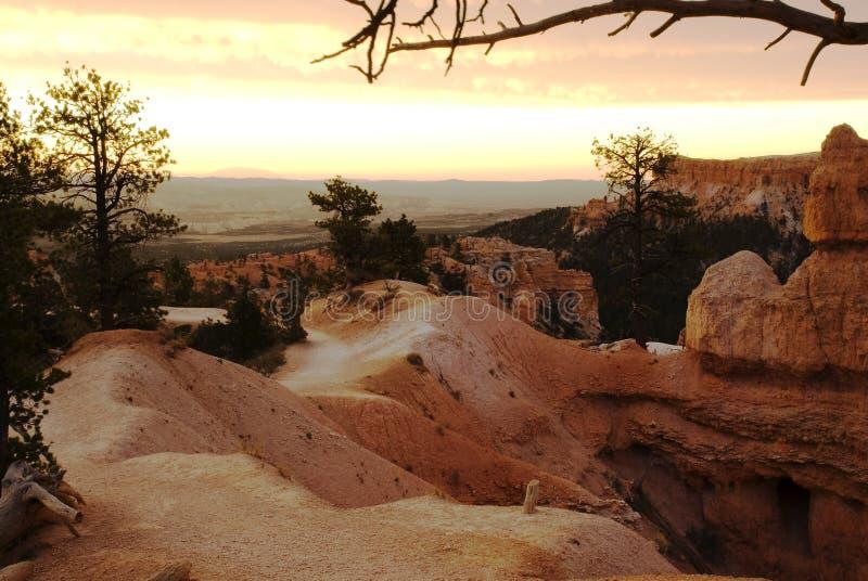 Het Landschap van de Canion van Bryce royalty-vrije stock afbeelding