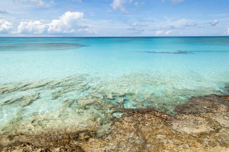 Het Landschap van de Caraïbische Zee stock fotografie