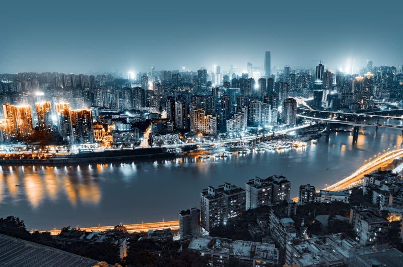 Het landschap van de Chongqingsstad royalty-vrije stock foto's