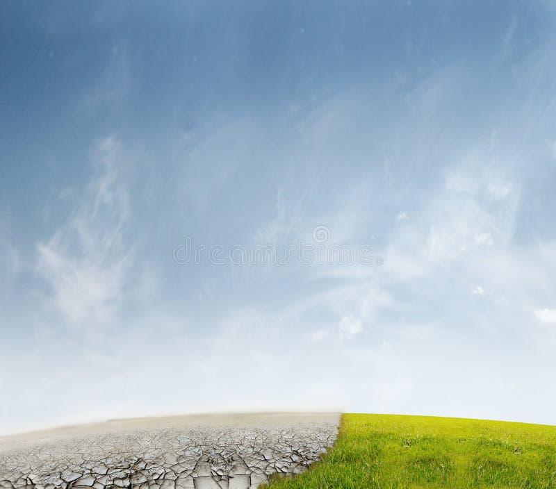 Het landschap van de ecologie vector illustratie