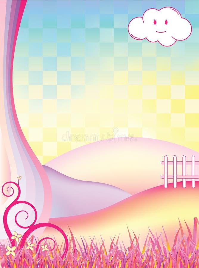 Het Landschap van de fee vector illustratie