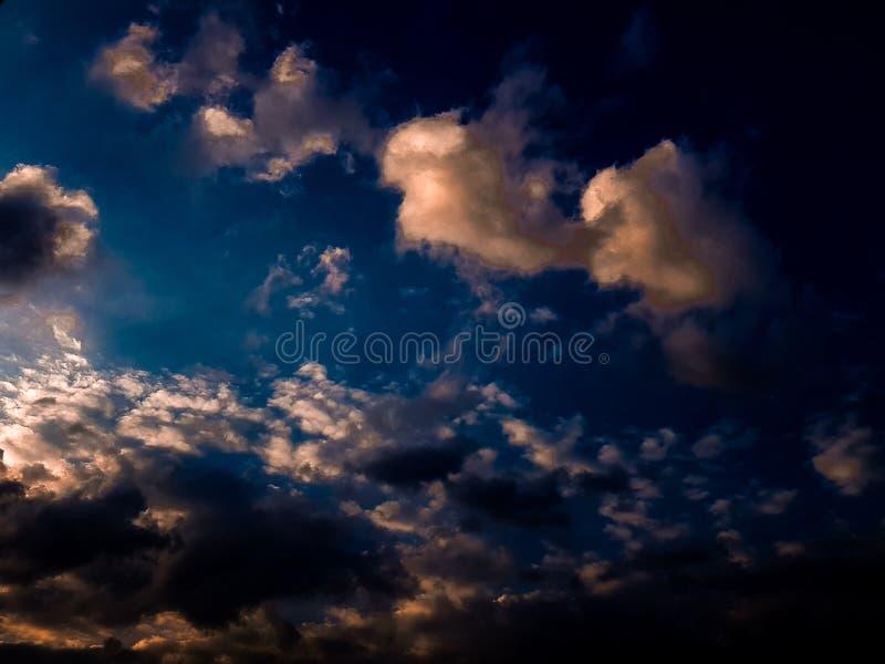 Het landschap van de hemel royalty-vrije stock afbeeldingen