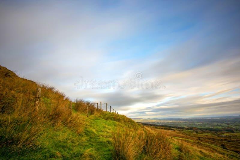Het landschap van de hemel stock foto