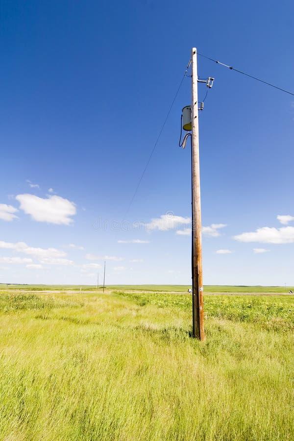Het Landschap van de Hemel van de prairie stock fotografie
