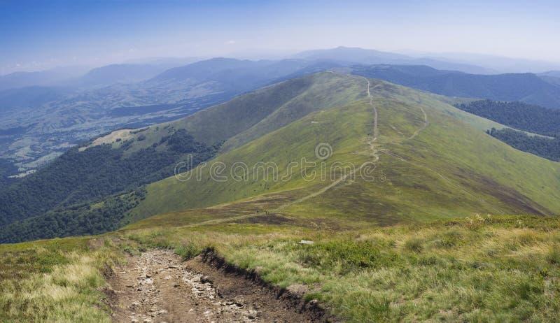 Het landschap van de Karpaten royalty-vrije stock afbeelding