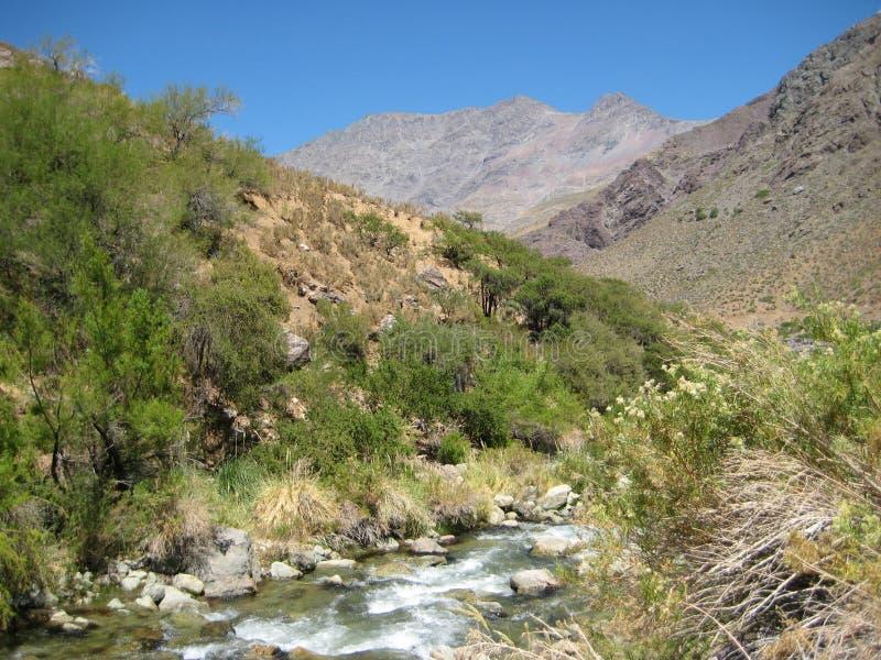 Het landschap van de Montepatriavallei stock foto