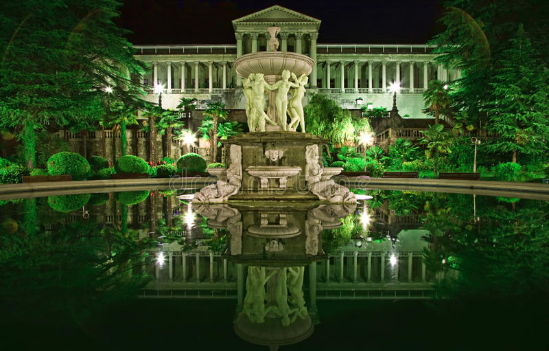 Het landschap van de nacht royalty-vrije stock fotografie