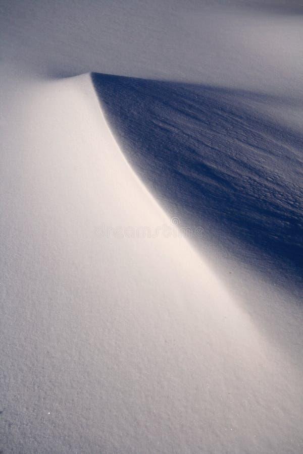 Het Landschap van de sneeuw stock afbeelding