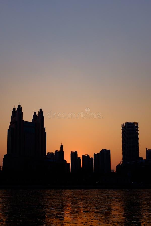 Het landschap van de Tianjinstad royalty-vrije stock foto's