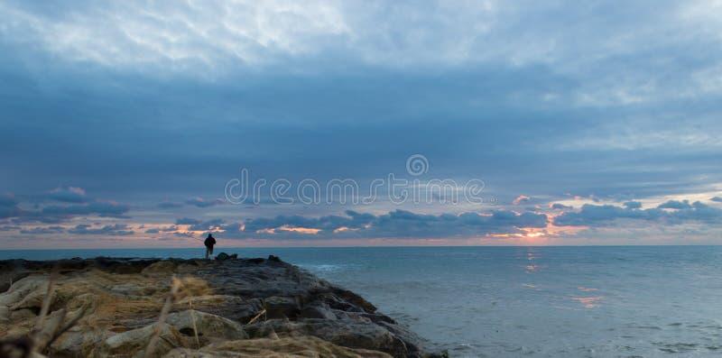 Download Het Landschap Van De Visser Stock Afbeelding - Afbeelding bestaande uit schemer, dageraad: 29509853