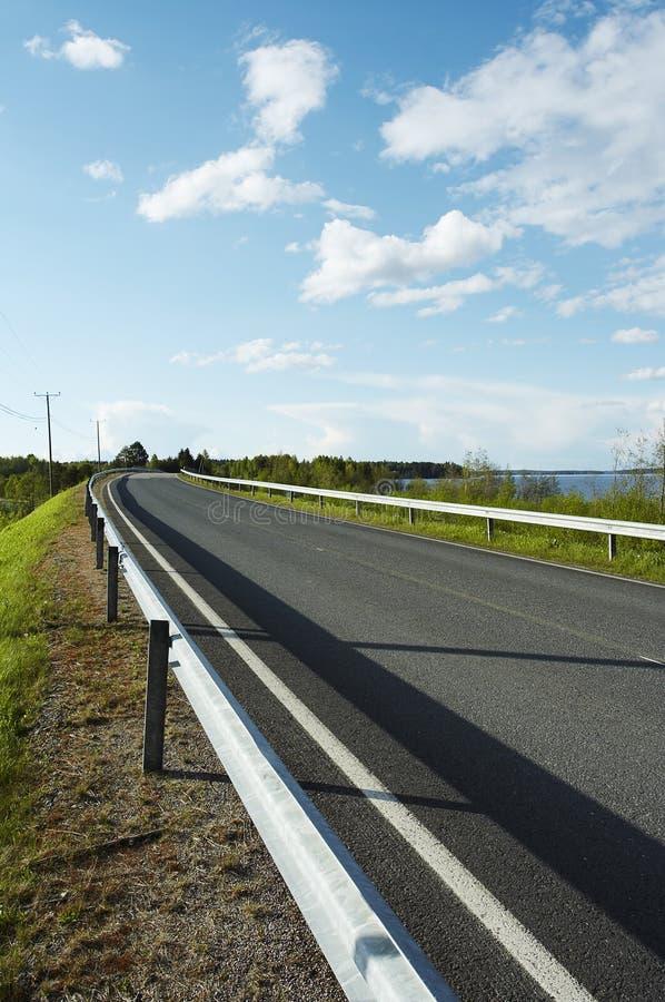 Het landschap van de weg royalty-vrije stock foto