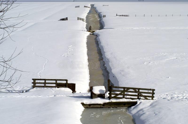 Download Het Landschap Van De Winter Stock Afbeelding - Afbeelding bestaande uit rivieren, winter: 279105