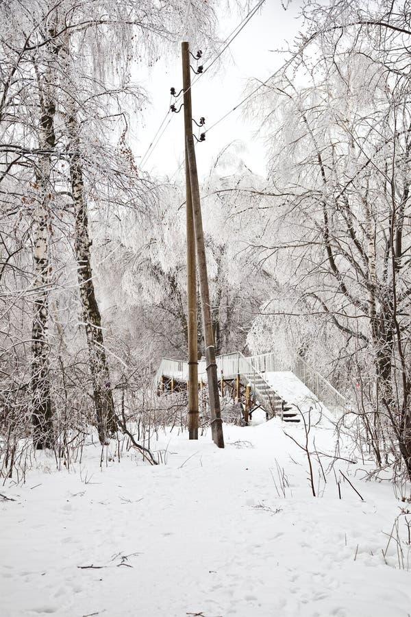 Download Het Landschap Van De Winter Stock Afbeelding - Afbeelding bestaande uit gang, weer: 29513991