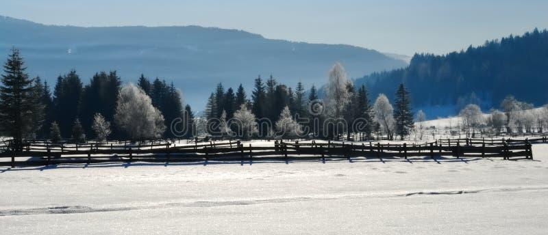 Het landschap van de winter no.2 royalty-vrije stock afbeeldingen