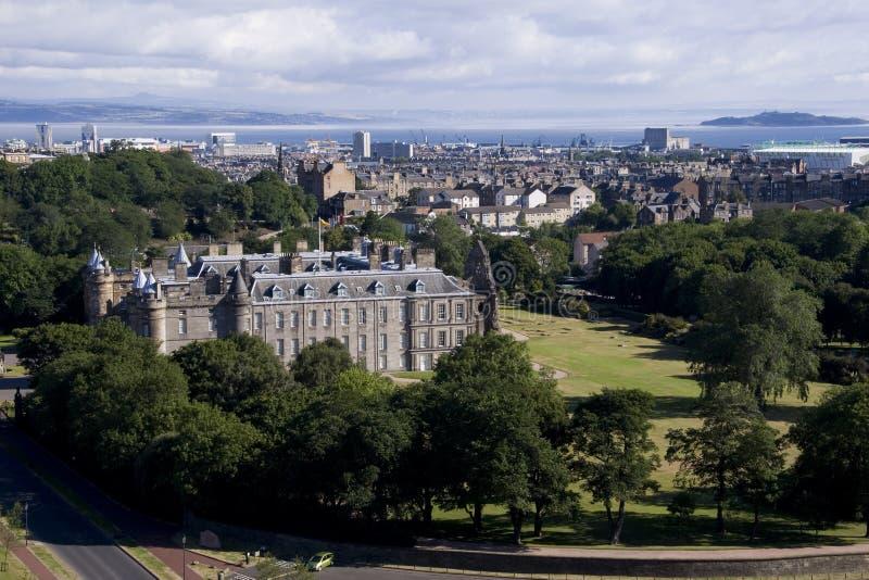 Het Landschap van Edinburgh stock afbeeldingen