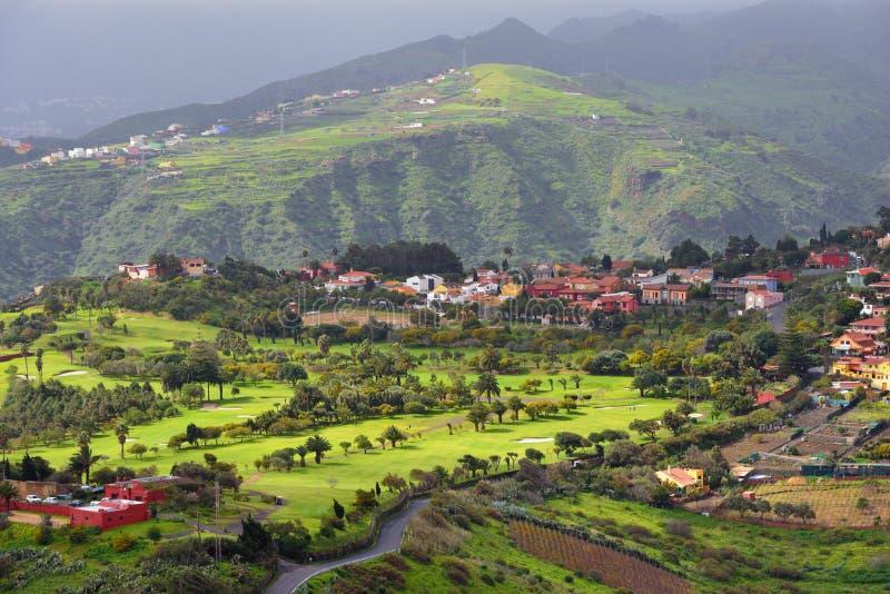 Het landschap van Gran Canaria stock fotografie