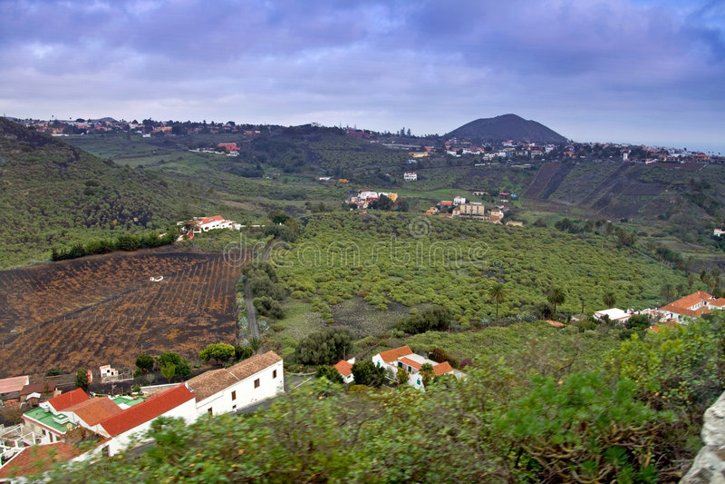 Het landschap van Gran Canaria royalty-vrije stock afbeelding